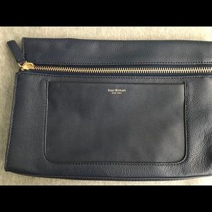 Like new (used once), Navy clutch 8x12inches